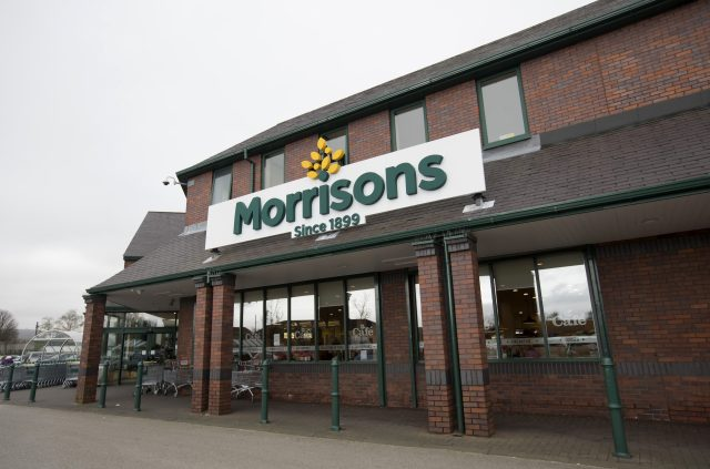 Morrisons (Jon Super/PA)