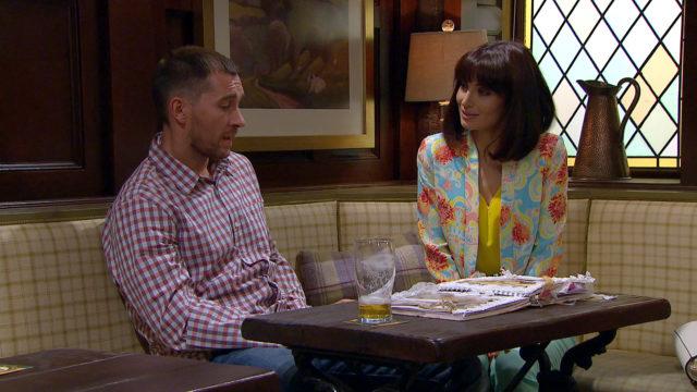 Leyla Harding and Pete Barton (ITV/Emmerdale)