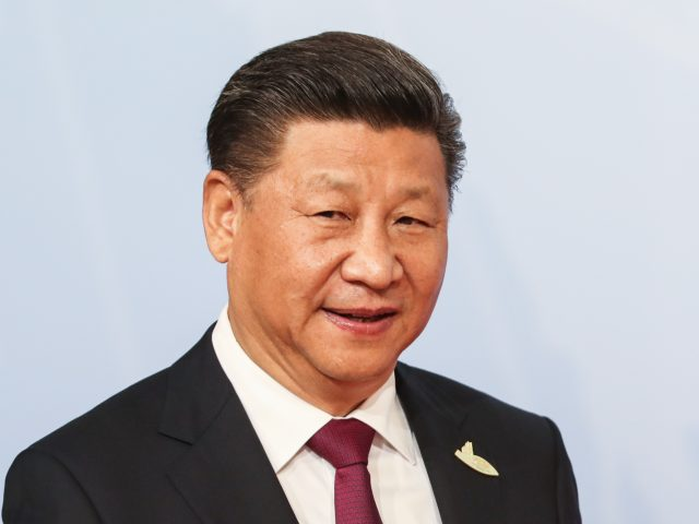 President Xi Jinping spoke to Mr Trump by telephone (PA)