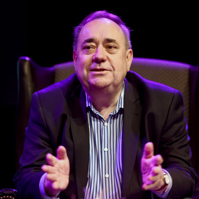 Mr Salmond said he was not ruling out a return to office (Lesley Martin/PA)
