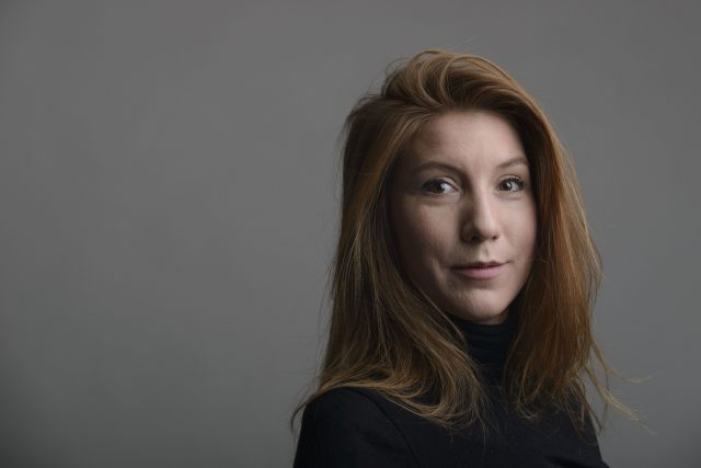 Swedish journalist Kim Wall had been on the submarine (Tom Wall/AP)