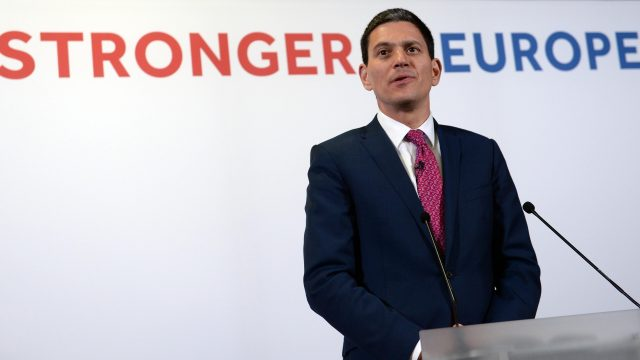David Miliband wants Britain to stay in the EU