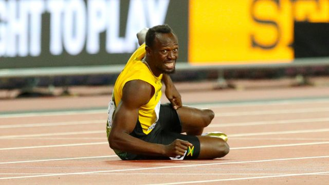 It was not the fairytale finish Usain Bolt had planned