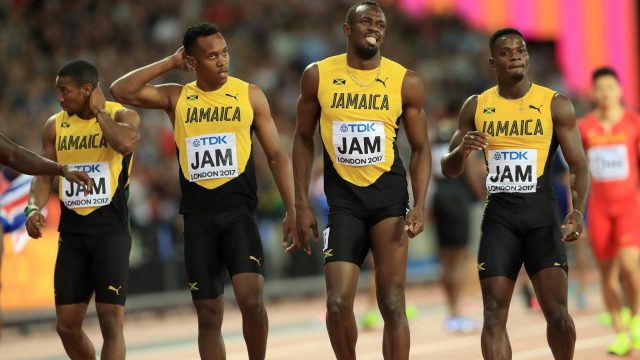 The Jamaicans were expected to be amongst the medals