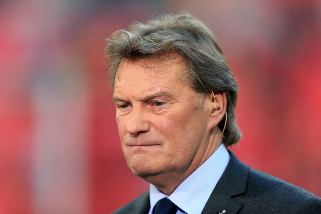 Glenn Hoddle made 377 league appearances for Tottenham