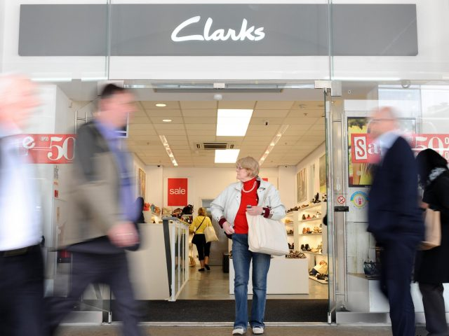 The footwear giant apologised for any offence caused (Dominic Lipinski/PA)