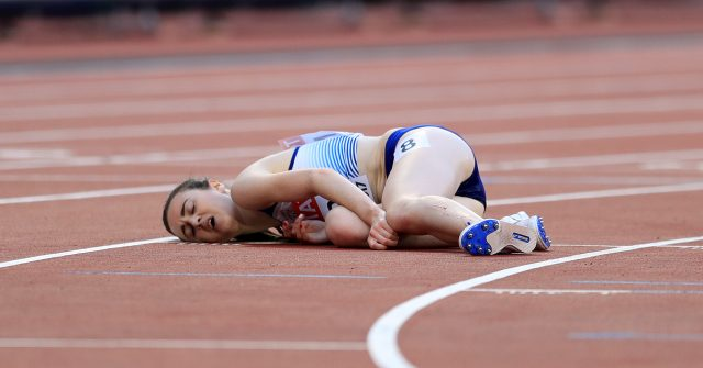 Laura Muir collapsed after a tough race