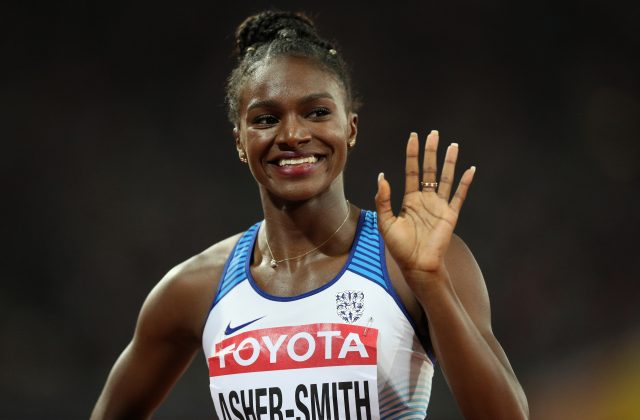 Asher-Smith is a 200 metre hopeful
