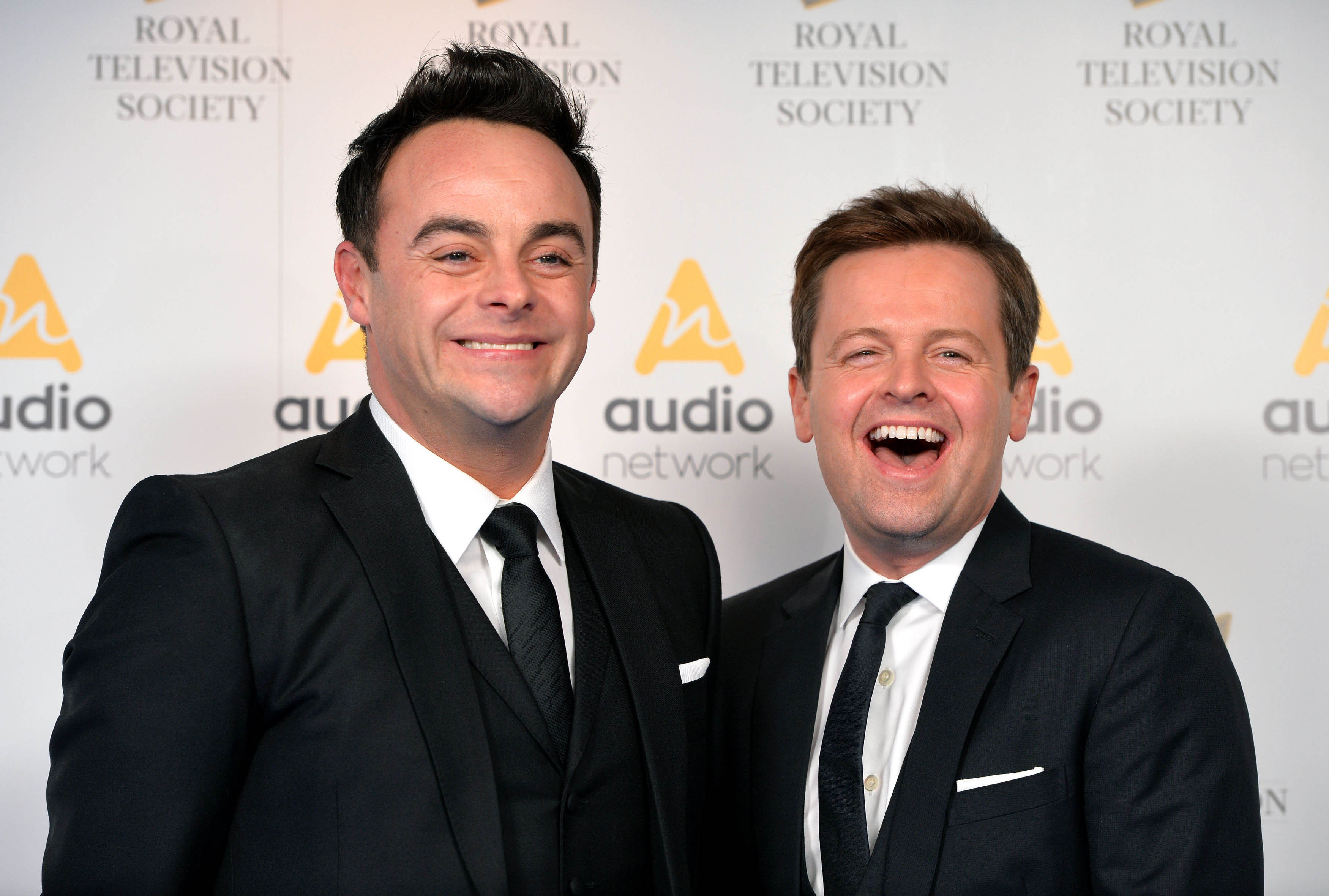 Ant McPartlin and Dec Donnelly on the red carpet