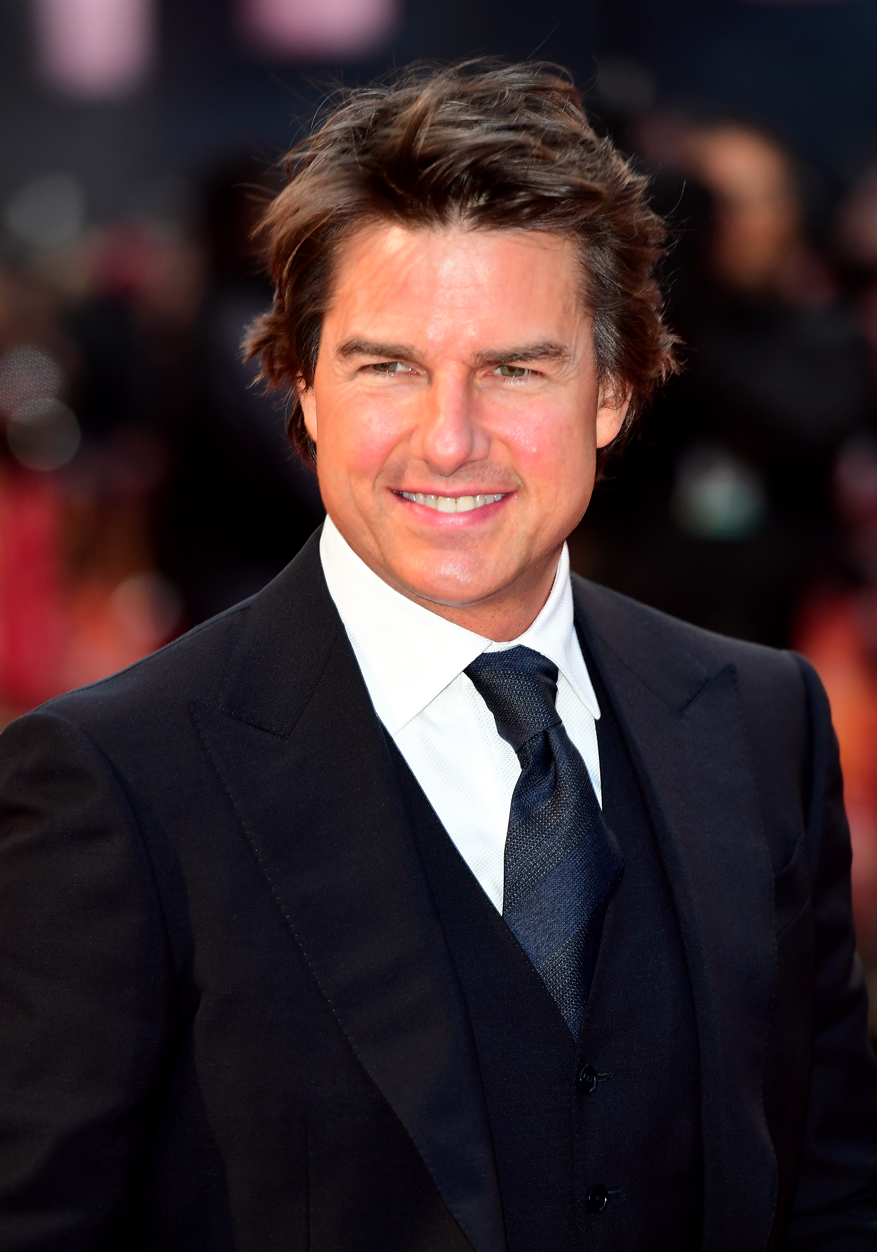 Tom Cruise at a premiere