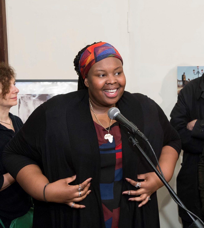 24-year-old artist Khadija Saye (International Curators Forum/PA)