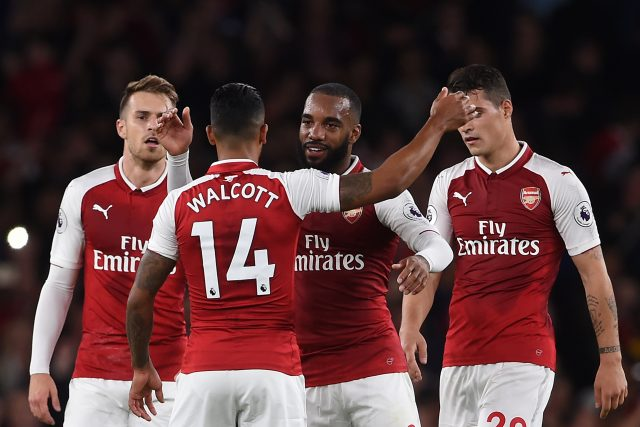 Arsenal's kit came highly recommended ( Joe Giddens/Empics)