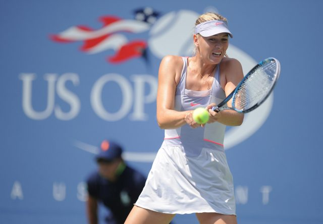 Maria Sharapova last competed at the US Open in 2014 (Mehdi Taamallah/PA)