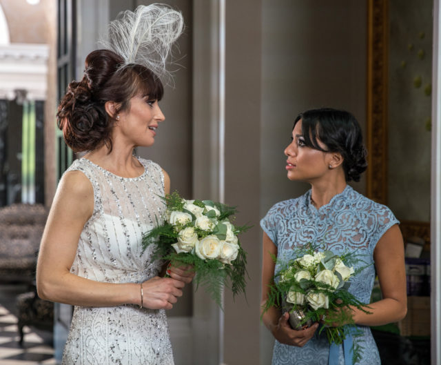 Leyla and Priya at the wedding (Photographer - Amy Brammall)