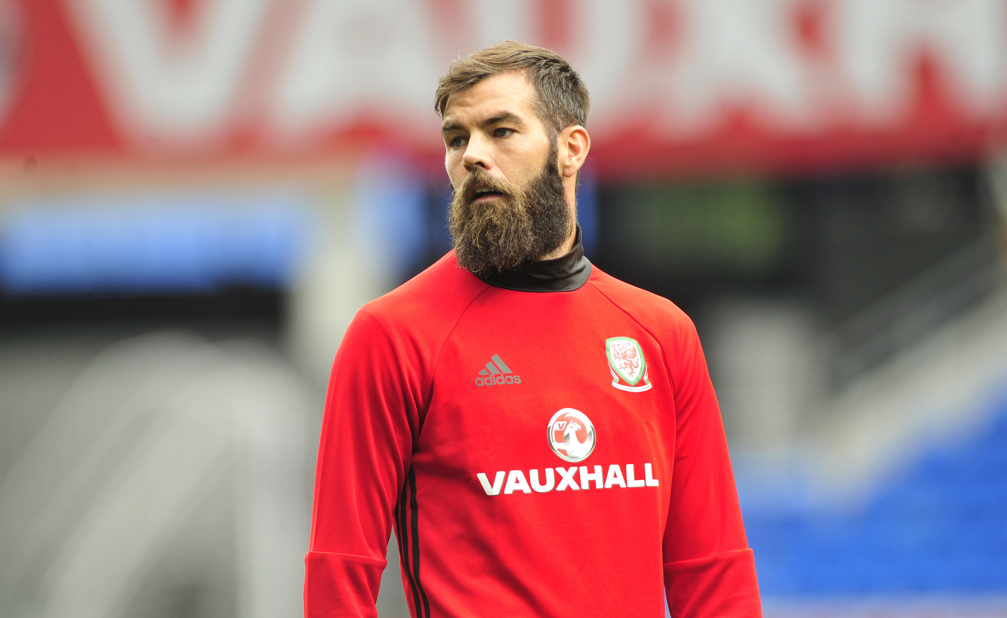 Wales footballer Joe Ledley