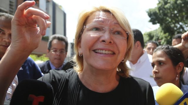 It's not clear where Luisa Ortega Diaz or German Ferrer are