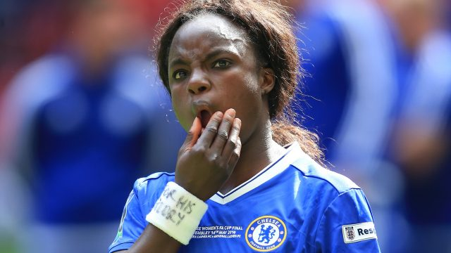 Eni Aluko made a series of allegations against Sampson in a complaint about his behaviour to the Football Association