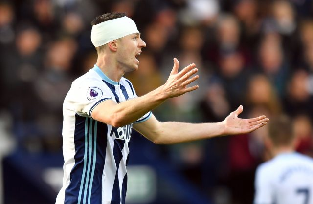 West Brom reject shock £18 million Manchester City bid for Jonny Evans
