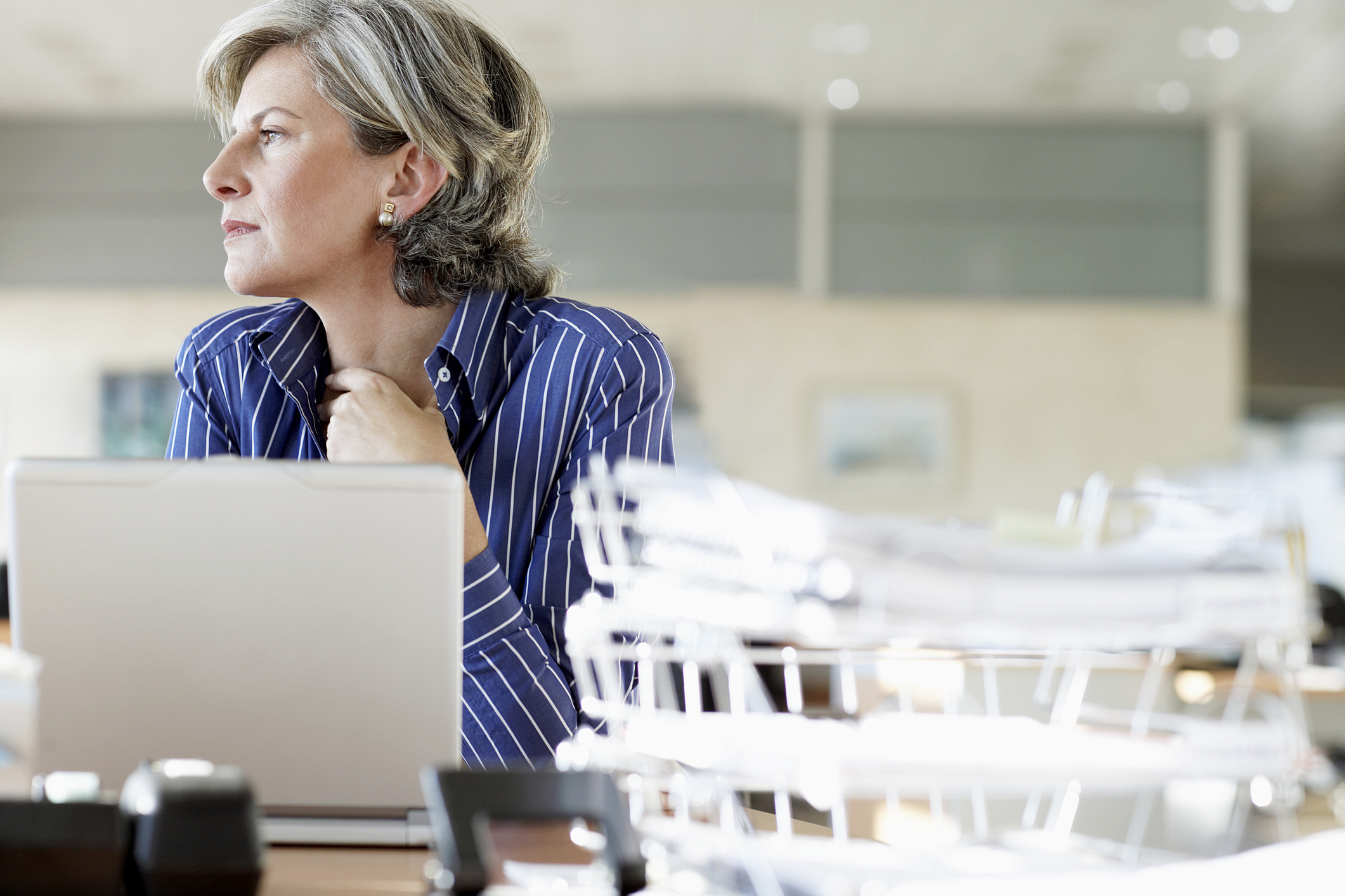 Women going through menopause at work can feel ignored (Thinkstock/PA)