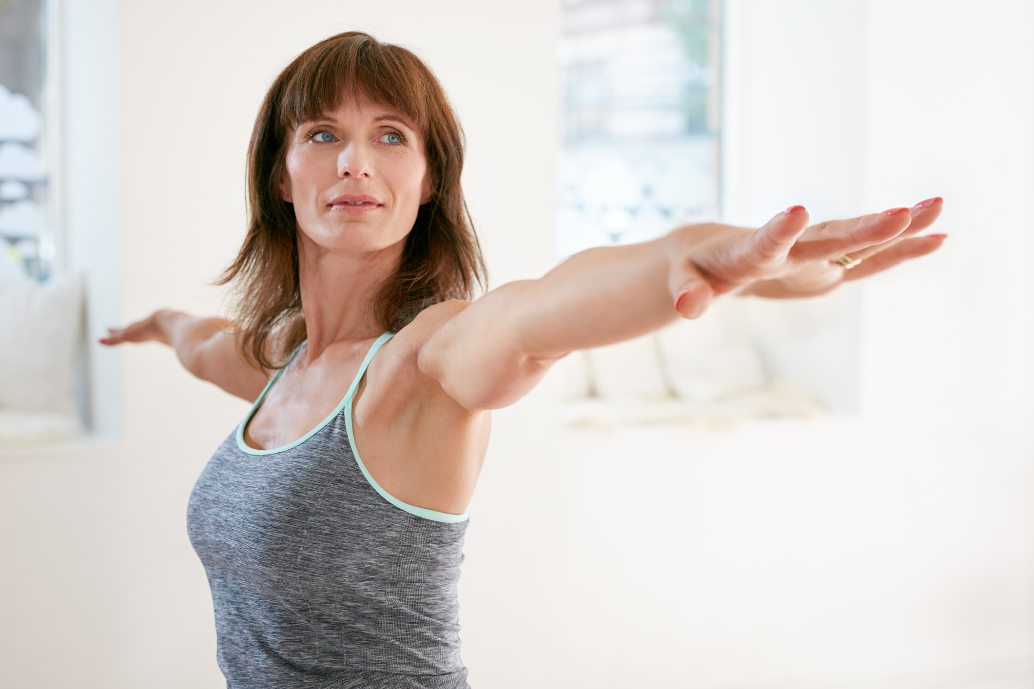 Yoga will help maintain muscle mass (Thinkstock/PA)