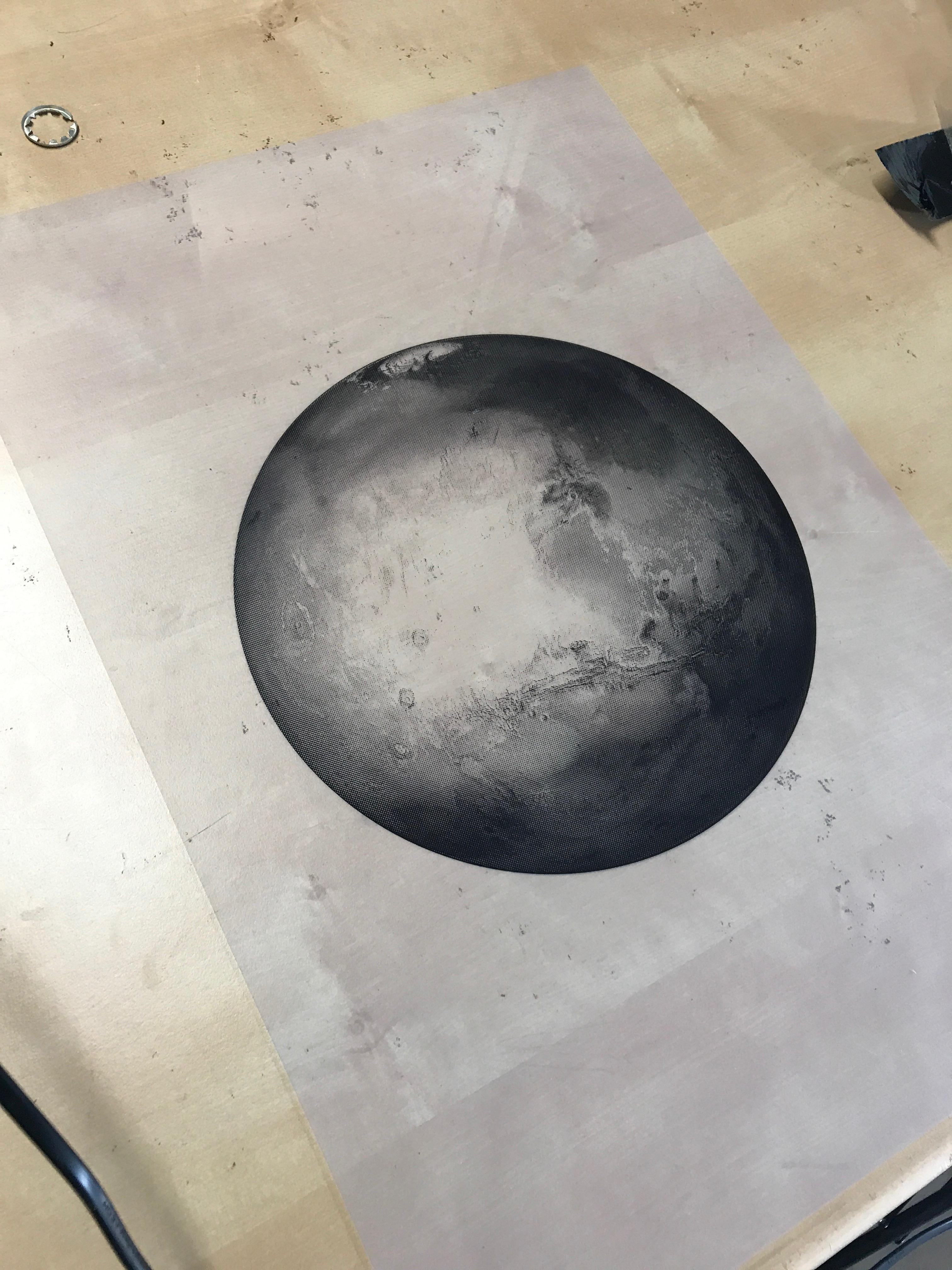 How A Creative Made This Exquisite Mars Portrait Out Of
