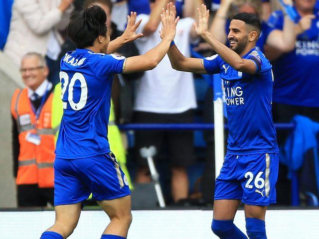 Riyad Mahrez impressed for Leicester