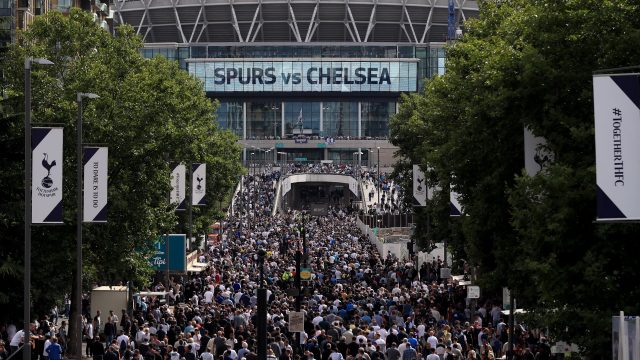 Spurs have won just two of the 11 games they have played at Wembley since it reopened in 2007