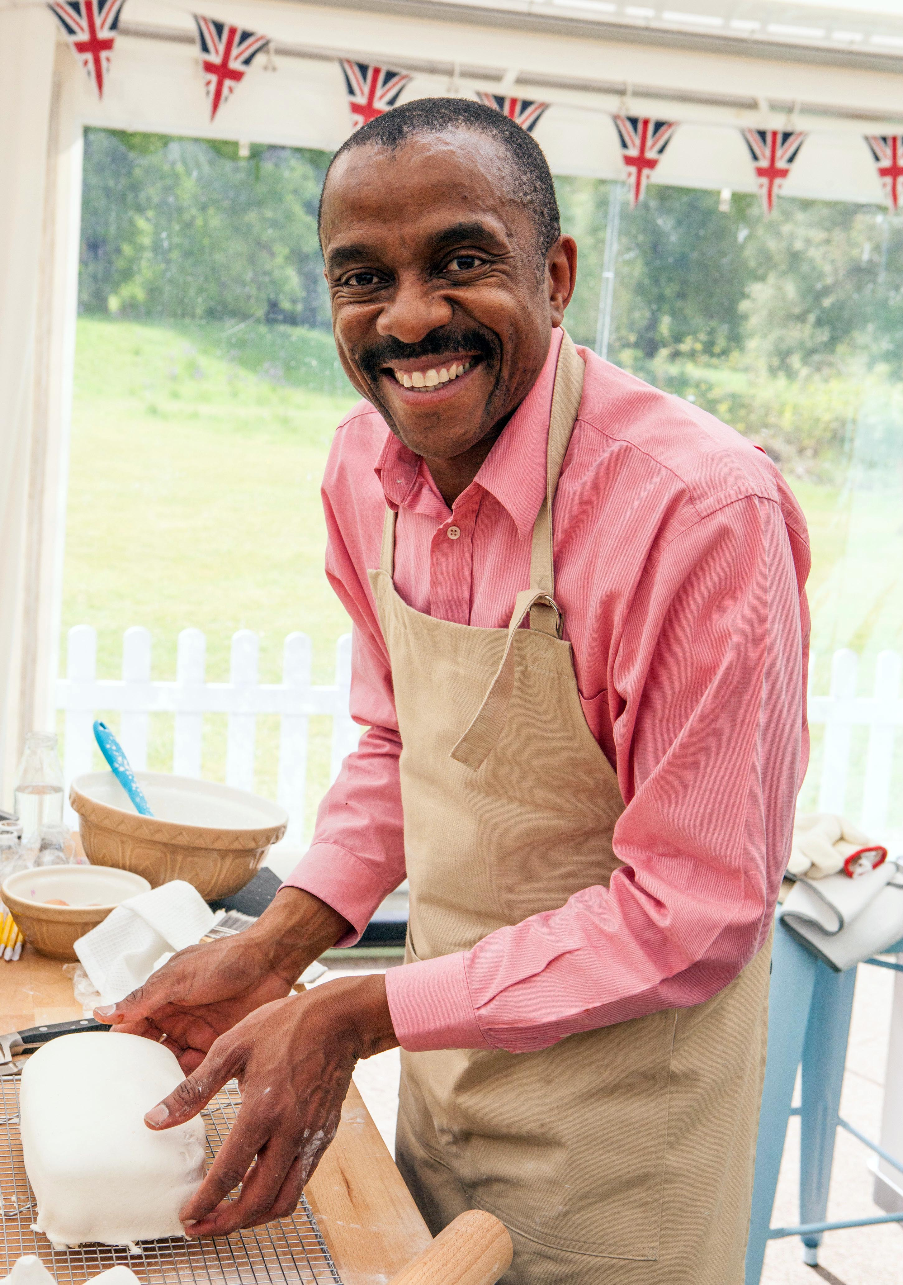 Peter on the Great British Bake Off