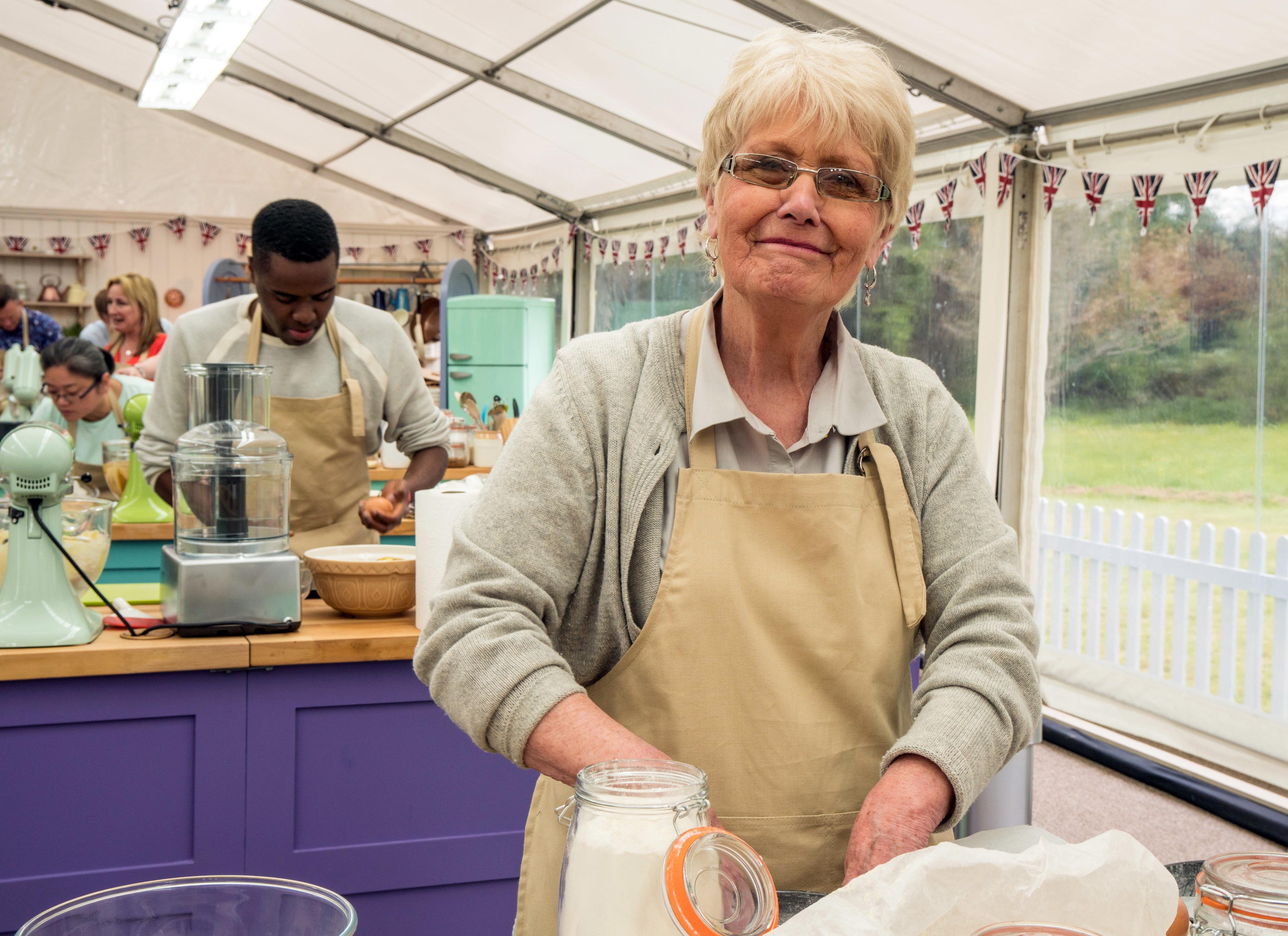 Flo on Bake Off
