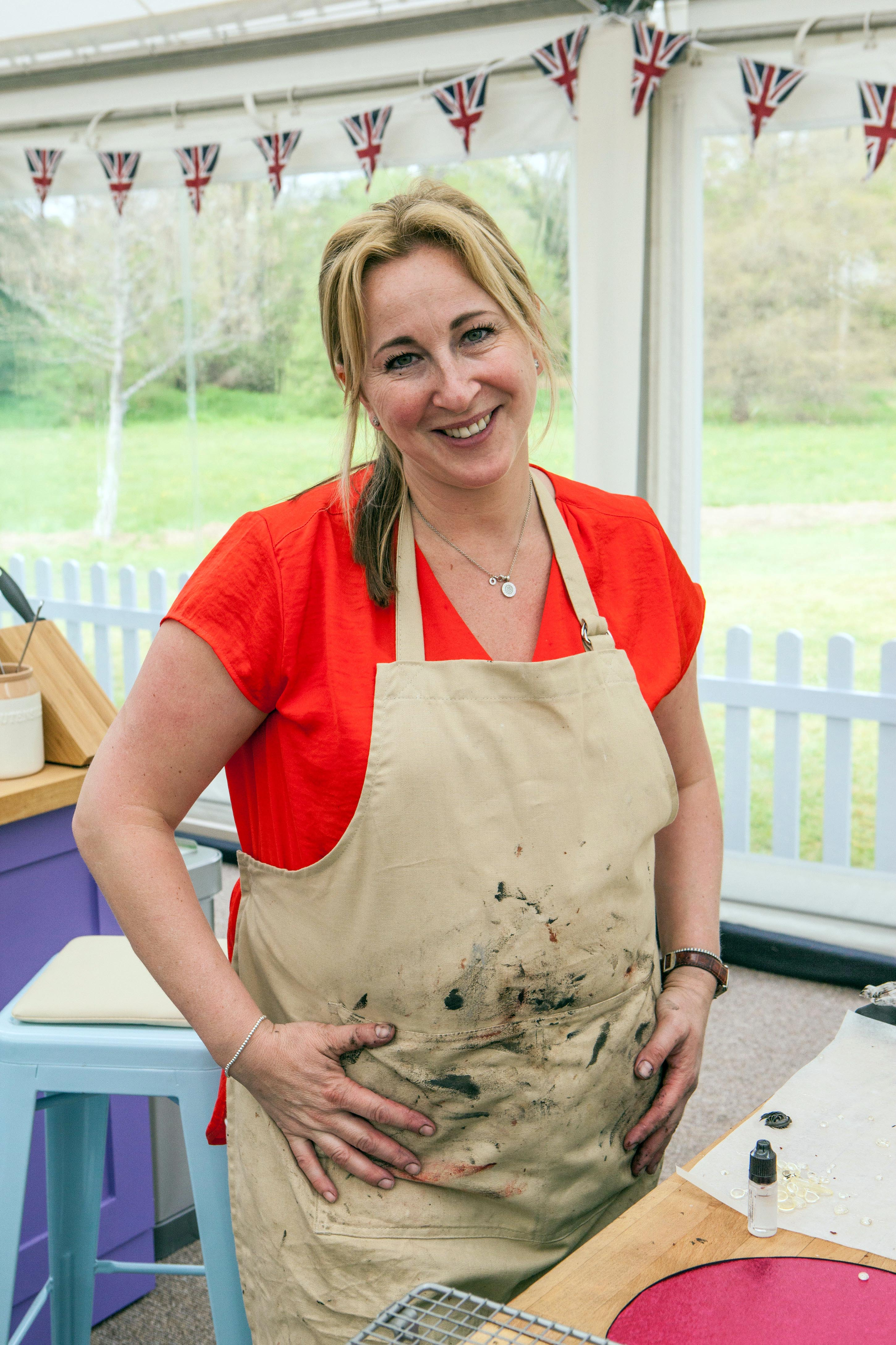 Stacey on Bake Off