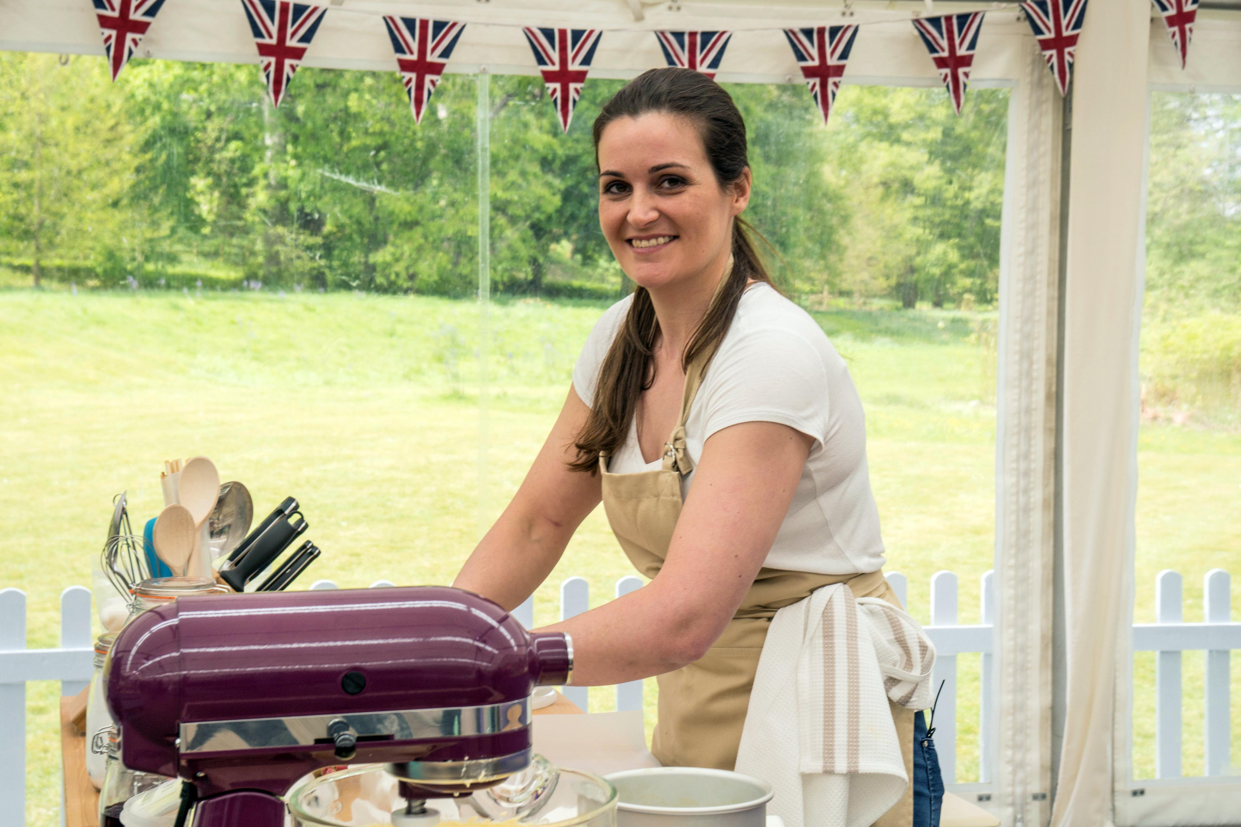 Sophie on Bake Off