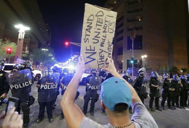 Phoenix protesters
