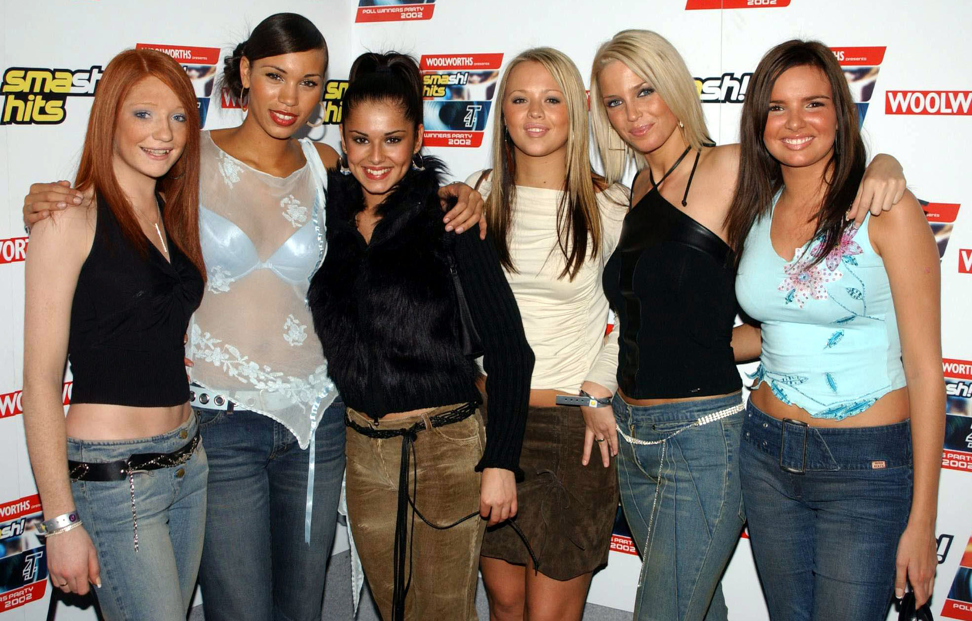 Low slung belts Girls ALoud