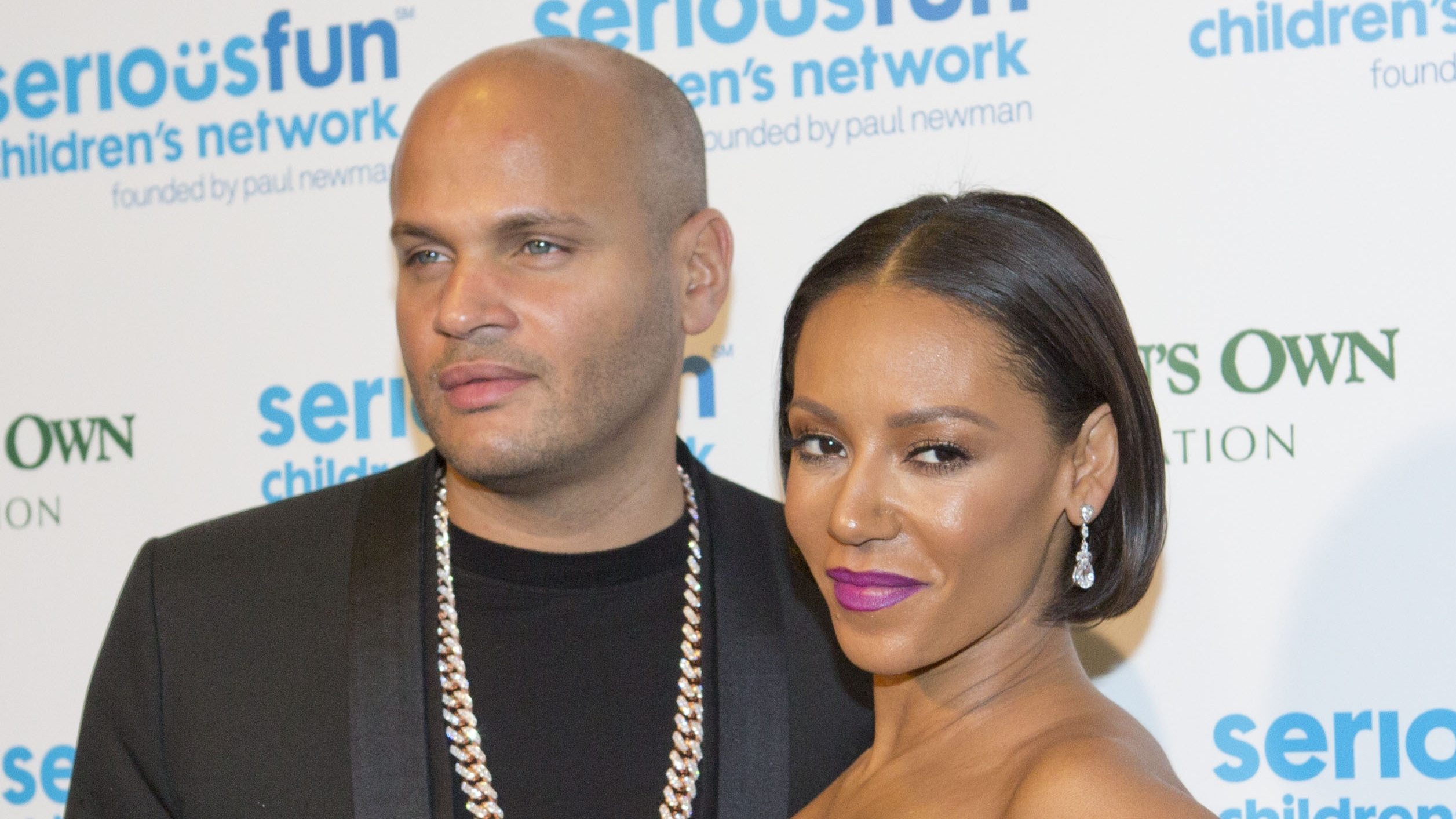Mel B and estranged husband Stephen Belafonte (Rick Findler/PA)
