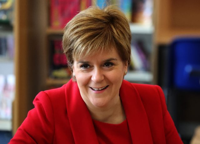 First Minister Nicola Sturgeon said Scotland's economy remains strong