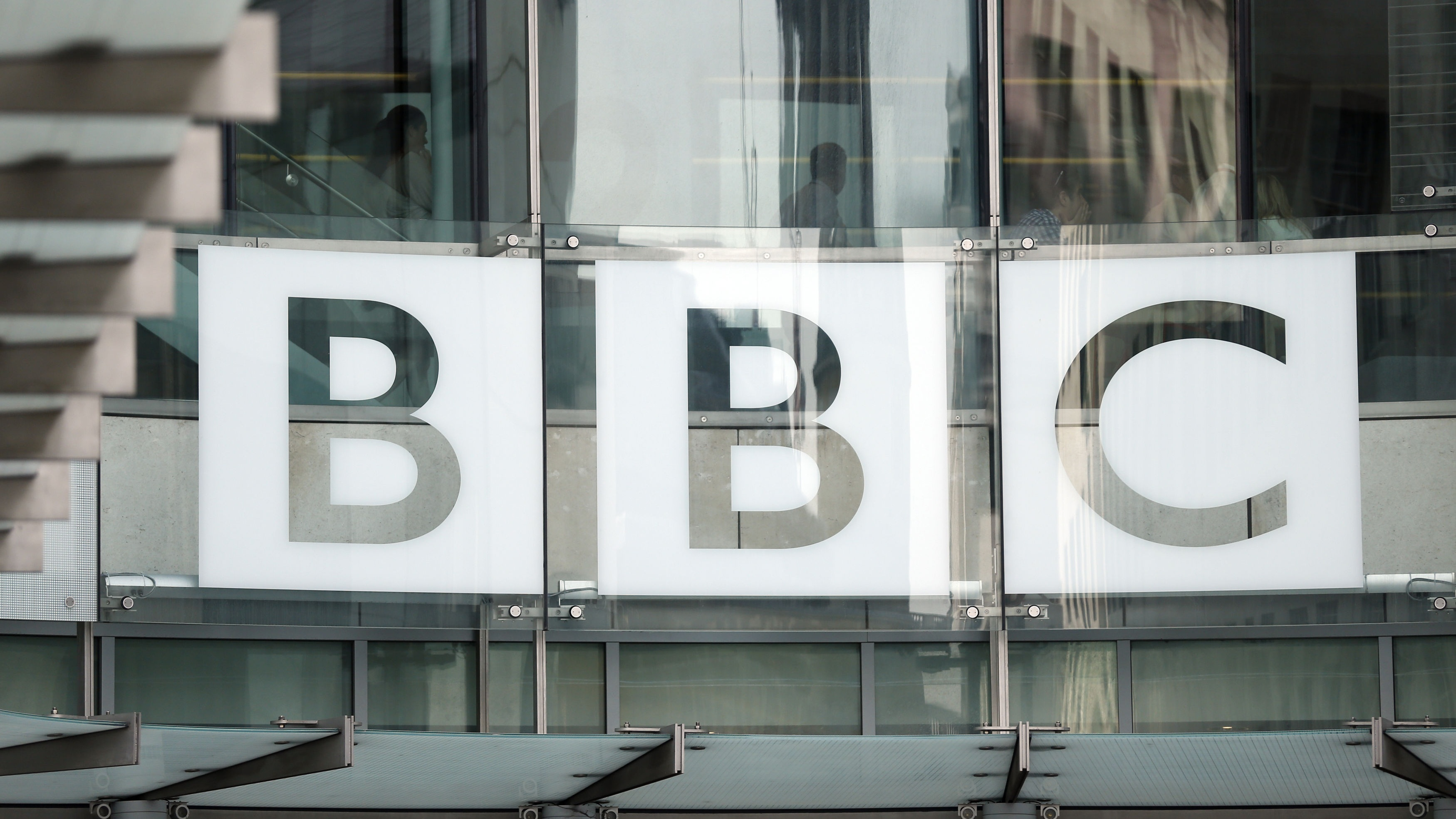 The BBC logo at Broadcasting House (Jonathan Brady/PA)