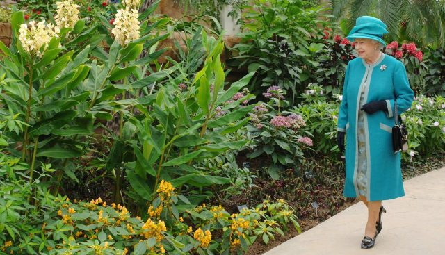 The Queen at RHS Wisley Gardens