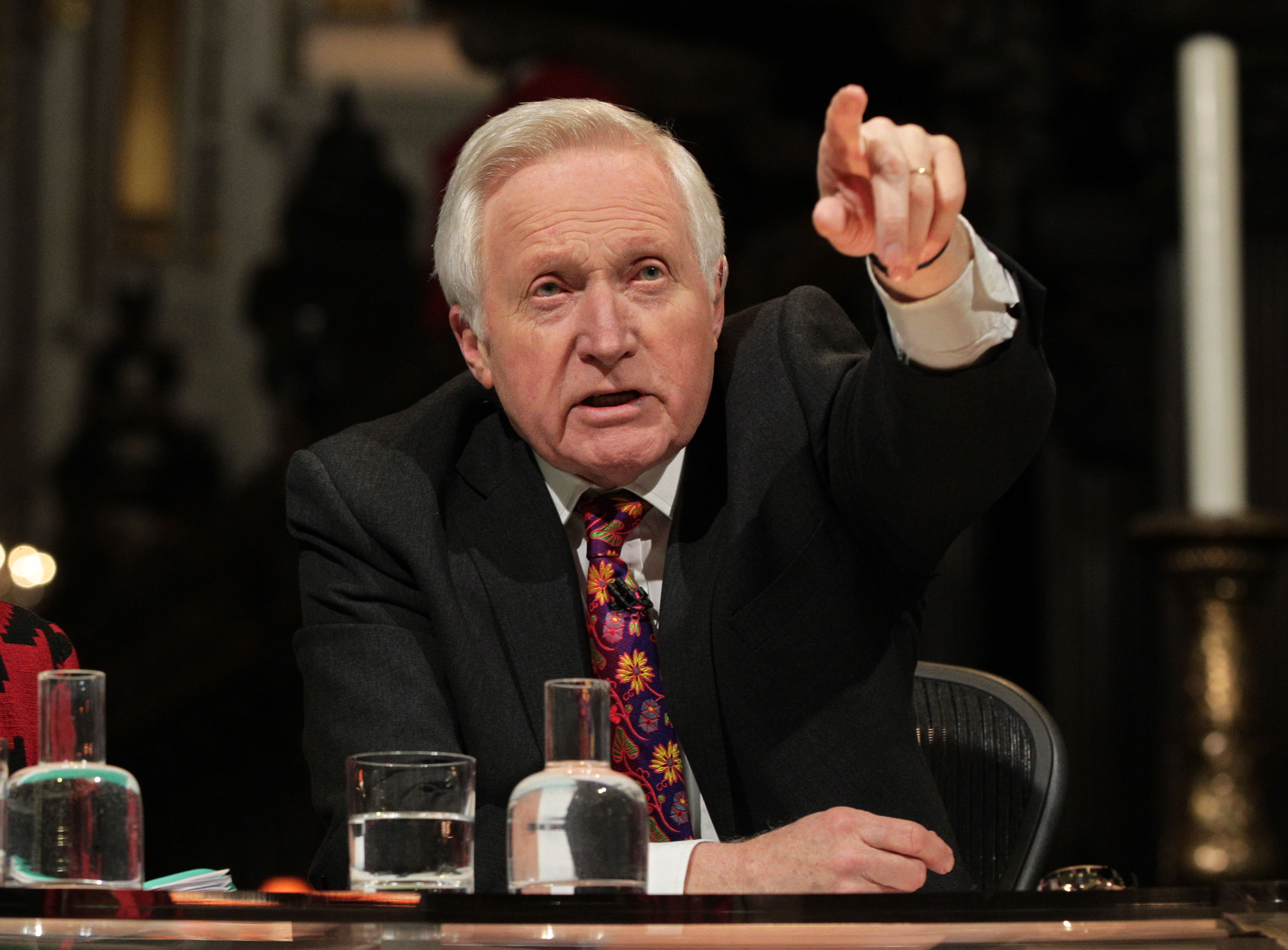 David Dimbleby did not have his salary disclosed in the BBC annual report.