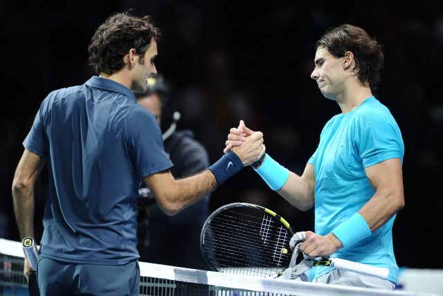 Roger Federer and Rafael Nadal could meet in the semi-finals