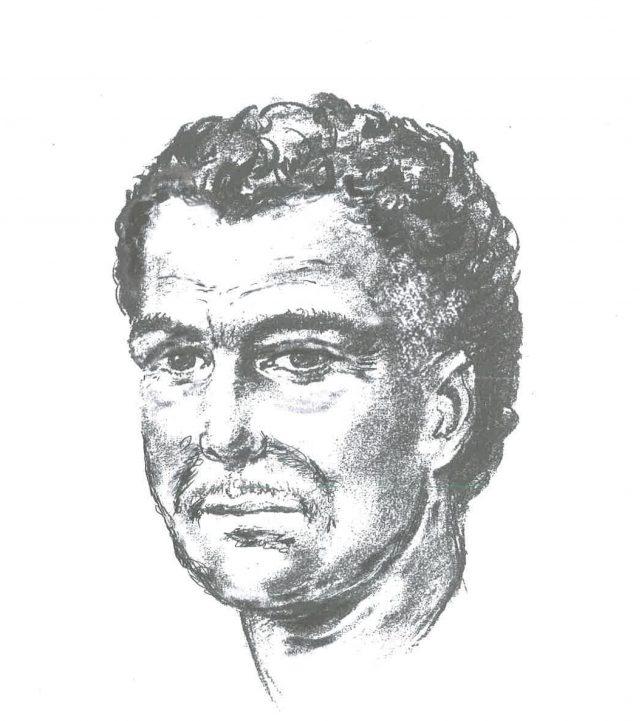 An artist's impression of  the man who shot Naji Salim Hussain Al-Ali (Metropolitan Police/PA)