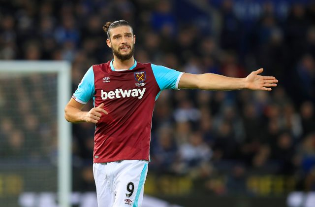 West Ham United's Andy Carroll