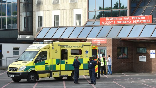 Manchester Royal Infirmary treated victims of the Manchester bomb attack