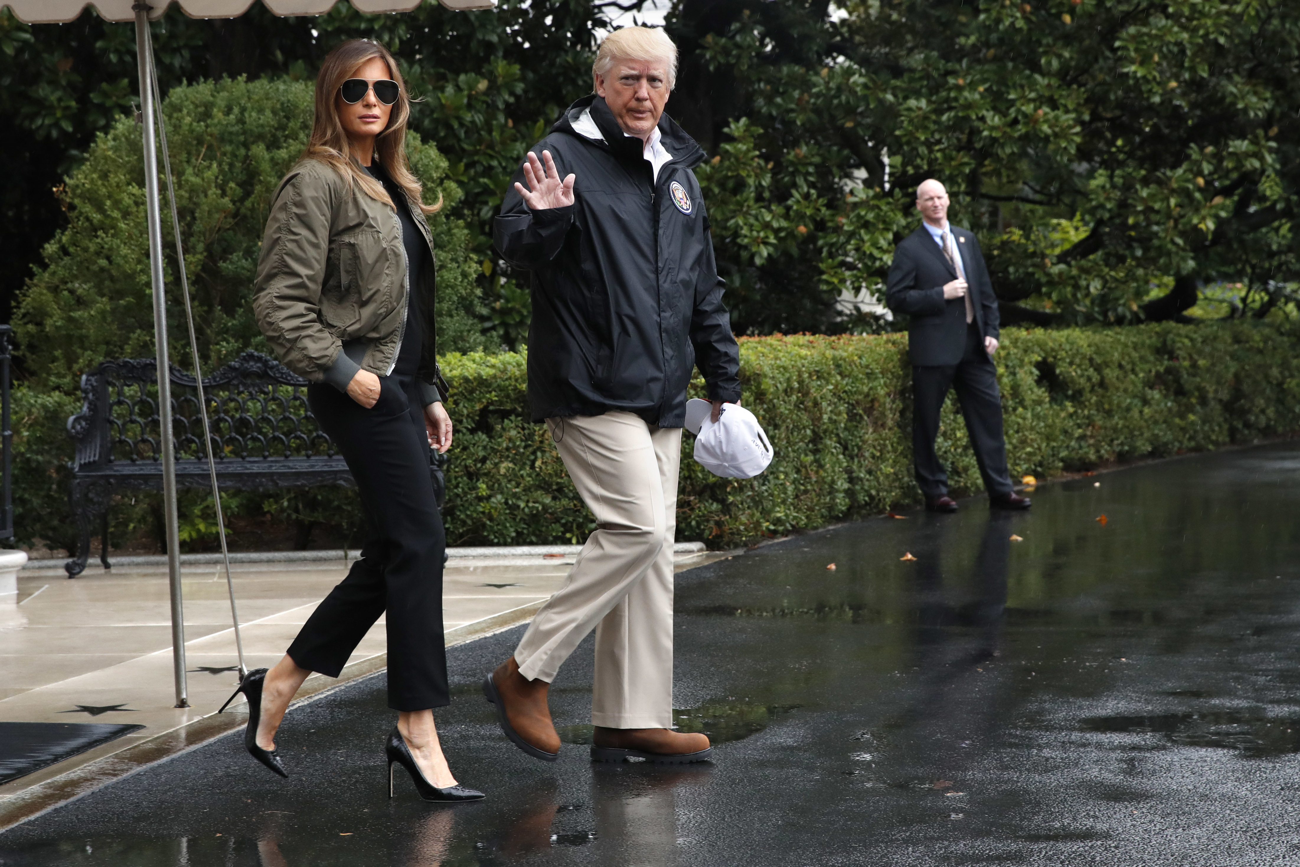 Who In Texas Is Talking About Melania S Shoes