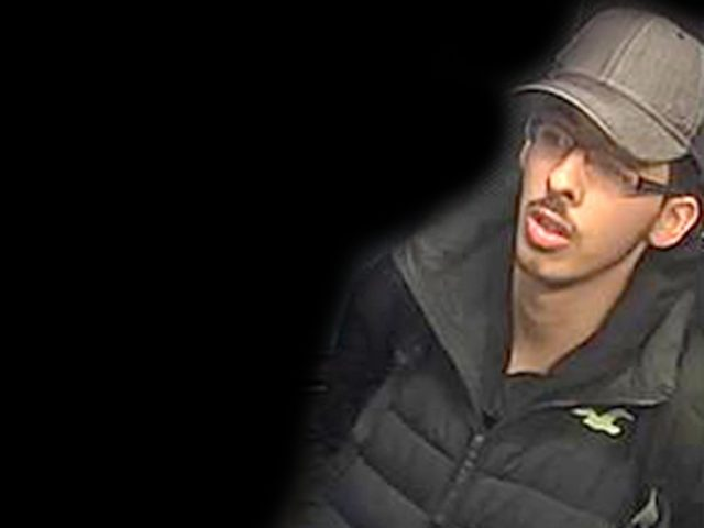 CCTV image of Salman Abedi on the night he carried out the Manchester Arena terror attack (Greater Manchester Police/PA)