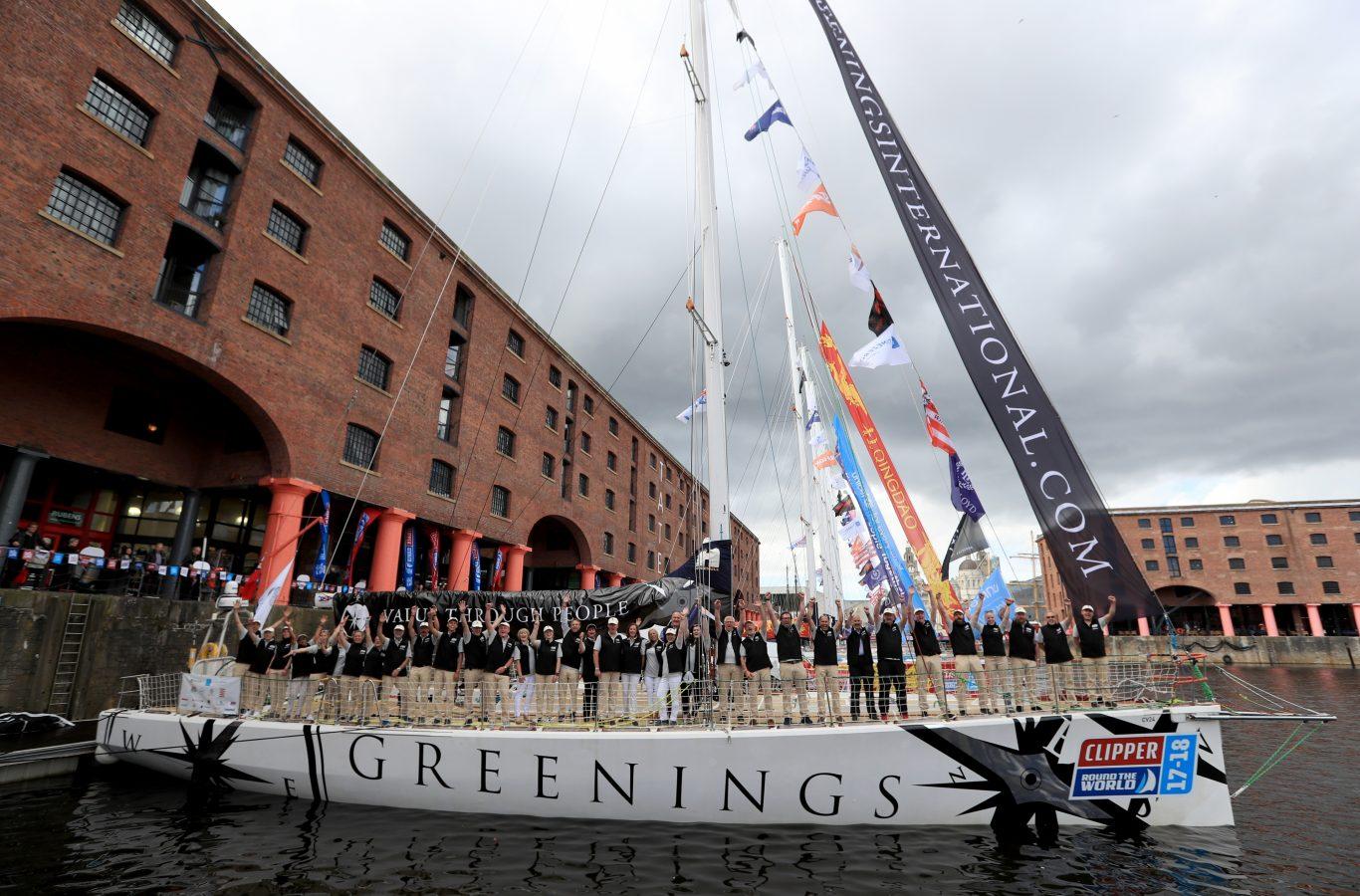 The Greenings yacht (Tim Goode/PA)