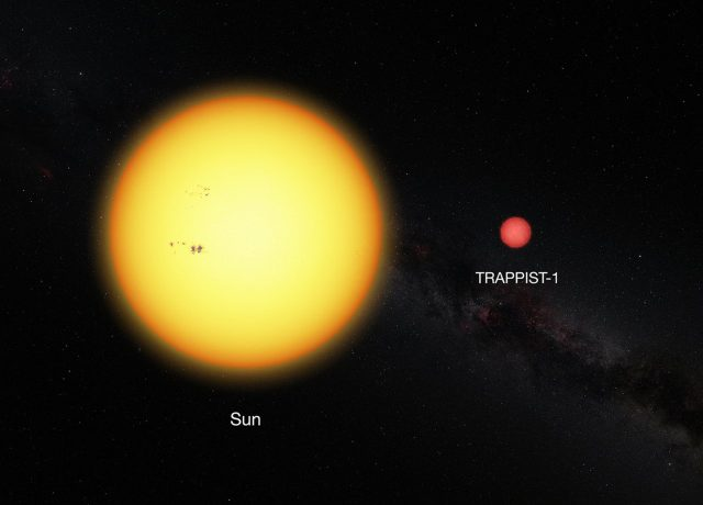 Hubble detects first hints of water in potentially habitable TRAPPIST-1 planets