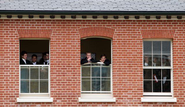 Eton College pupils. (Steve Parsons/PA)