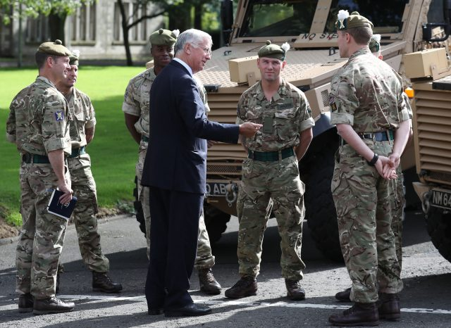 Defence Secretary Sir Michael Fallon. (Andrew Milligan/PA)