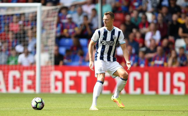 Jonny Evans is staying at West Brom having been linked with Manchester City
