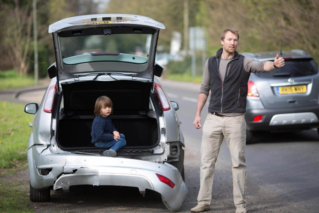 A road safety experiment to see if members of the public stop to assist stranded drivers when their car is left undriveable
